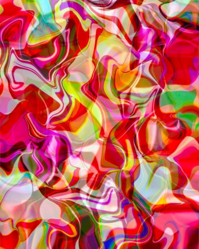 AYAHUASCA<br>Digital Art Print Under Acrylic Glass